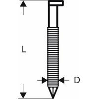 Пирон с D-образна глава на лента BOSCH SN34DK 50RG