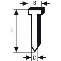 Щифтове BOSCH със скрита глава 64-34 63 NR