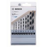 Комплект свредла BOSCH HSS PointTeQ Hex Drill Bit - 9 броя