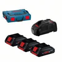 Стартов комплект BOSCH ProCORE 3x18V-4.0Ah + GAL 1880 CV + L-BOXX 102