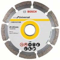 Диамантен диск BOSCH ECO for Universal 125 mm 10 броя