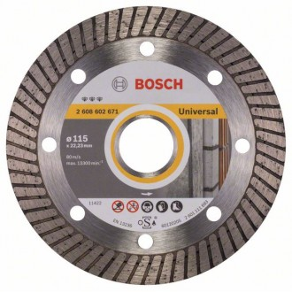 Диск BOSCH Best for Universal Turbo 115 mm