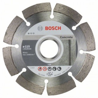 Диамантен диск BOSCH Standard for Concrete 230 mm