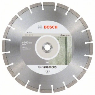 Диамантен диск BOSCH Standard for Concrete 300 mm