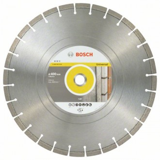 Диамантен диск BOSCH Expert for Universal 400x25,4 mm