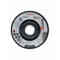 Диск за шлайфане на метал BOSCH X-LOCK 115x6 mm