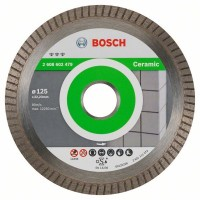 Диамантен диск BOSCH за фаянс Ф125х22.23 Best for Ceramic Extraclean Turbo
