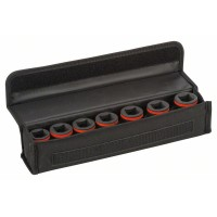 Комплект вложки за глух ключ BOSCH - 7 части, 50 mm