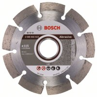 Диамантен диск BOSCH за абразиви Ф115х22.23 Standard for Abrasive