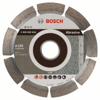 Диамантен диск BOSCH за абразиви Ф125х22.23 Standard for Abrasive