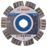 Диамантен диск BOSCH за камък  Ф125х22,23 Best for Stone