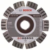 Диамантен диск  BOSCH за абразиви Ф125х22.23 Best for Abrasive