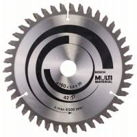 Циркулярен диск BOSCH Ф160х2.4 Multi Material Z42