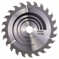Циркулярен диск BOSCH Ф160х2.6 Optiline Wood Z24