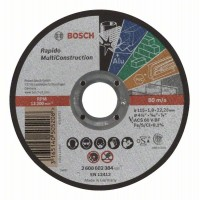 Карбофлексов диск за рязане BOSCH Rapido Multi Construction Ф115х1х22.23