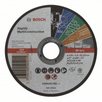 Карбофлексов диск за рязане BOSCH Rapido Multi Construction Ф125х1х22.23