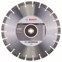 Диамантен диск BOSCH за абразиви Ф350х20-25.4 Best for Abrasive