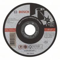 Карбофлексов диск BOSCH за рязане на inox Ф 115x2