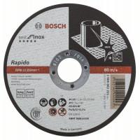 Карбофлексов диск BOSCH за рязане на inox Ф 125x1