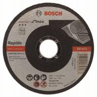 Карбофлексов диск BOSCH за рязане на inox Ф 115x1x22.23 standard