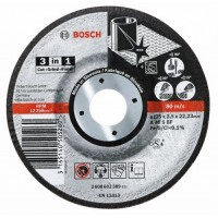 Карбофлексов диск BOSCH Inox Ф 125x2.5 - 3в1