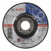 Диск за грубо шлифоване Expert for Metal BOSCH, 115 mm
