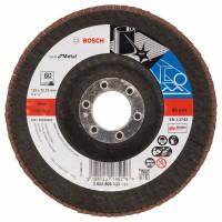 Диск за шлайфане ветрилообразен X571, Best for Metal BOSCH 125 mm, G60