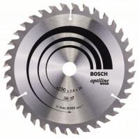 Optiline Wood диск за циркуляр BOSCH - 190 x 20/16 x 2,6 mm