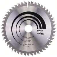 Optiline Wood диск за циркуляр BOSCH - 216 x 30 x 2,8 mm