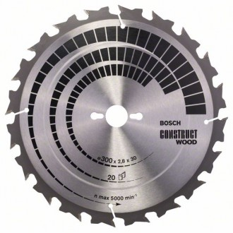 Construct Wood диск за циркуляр BOSCH - 300x30x2,8 mm