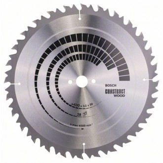 Construct Wood диск за циркуляр BOSCH - 400x30x3,2 mm