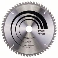 Optiline Wood диск за циркуляр BOSCH - 254 x 30 x 2,0 mm