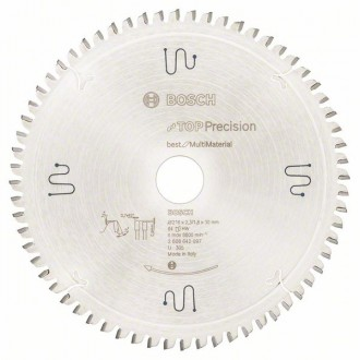 Диск за циркуляр 216 mm Top Precision Best for Multi Material BOSCH