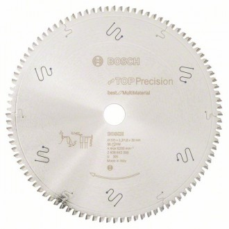 Диск за циркуляр 305 mm, Top Precision Best for Multi Material BOSCH
