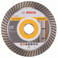 Диамантен диск за рязане Best for Universal Turbo BOSCH 125 mm