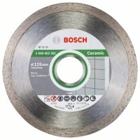 Диамантен диск за рязане Standard for Ceramic BOSCH 115 mm - 10 броя