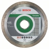 Диамантен диск за рязане Standard for Ceramic BOSCH 125 mm - 10 броя