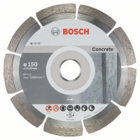 Диамантен диск 150 mm, Standard for Concrete BOSCH - 10 броя