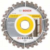 Диамантен диск за рязане 125 mm Best for Universal BOSCH