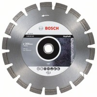 Диамантен диск за рязане BOSCH Best for Asphalt 300 mm