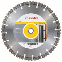Диамантен диск за рязане 300 mm Best for Universal BOSCH