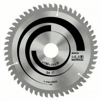 Циркулярен диск BOSCH Ф190х2.4 Multi Material Z54