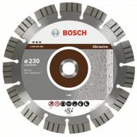 Диамантен диск BOSCH за абразиви Ф230х22.23 Best for Abrasive