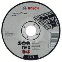 Карбофлексов диск BOSCH за рязане на inox Ф 125x1.6x22.23 standard